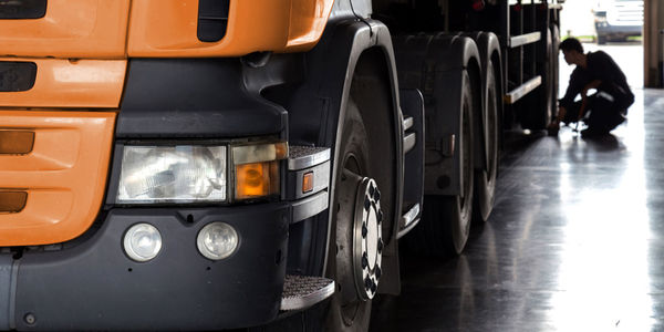 LKW Reifen für alle Gewichtsklassen.
