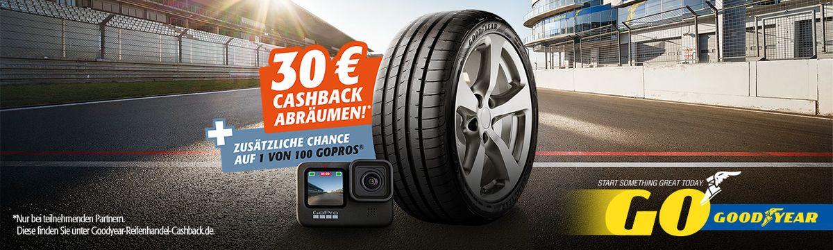 Goodyear reifen kaufen und 30 Euro Cashback sichern!